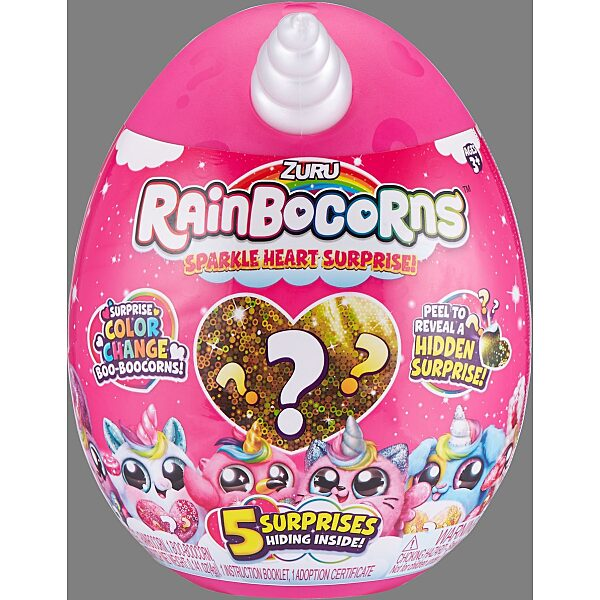 Rainbocorns: Sparkle Heart meglepetés csomag - 5. Kép