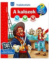 Ravensburger: Mit miért hogyan - A kalózok foglalkoztató könyv - 1. Kép
