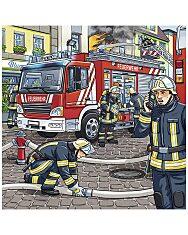 Ravensburger: szolgálati járművek 3x49 darabos puzzle - 2. Kép