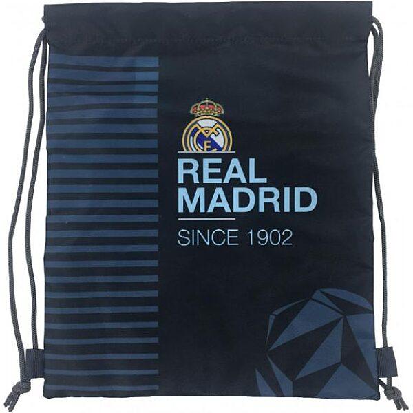 Real Madrid tornazsák - kék-világoskék - 1. Kép