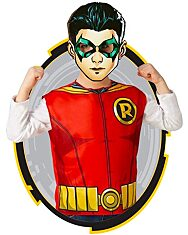 Rubies: Igazság ligája - Robin prémium jelmez papír maszkkal