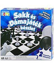 Sakk és dámajáték készlet - 1. Kép