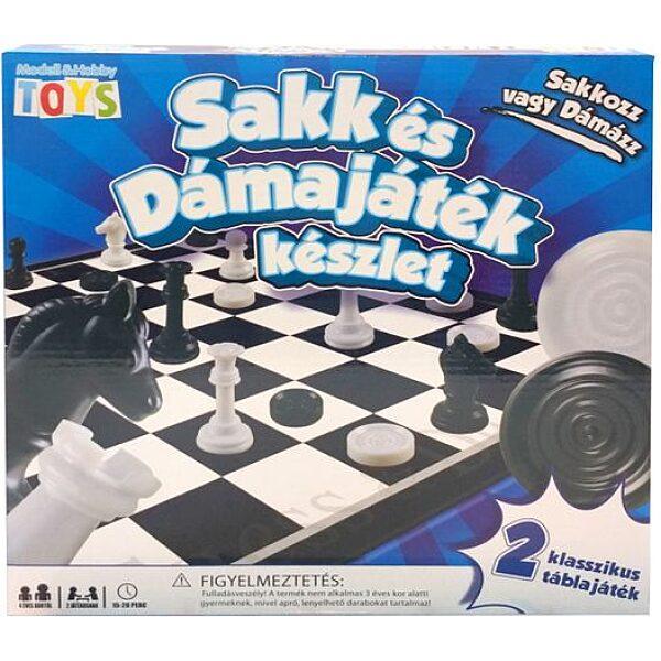 Sakk és dámajáték készlet - 4. Kép
