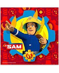 Sam a tűzoltó: 20 darabos szalvéta - 1. Kép