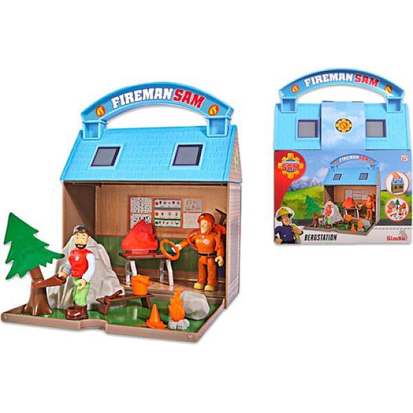 Sam a tűzotó: Hegyimentő központ 2 figurával - 1. Kép