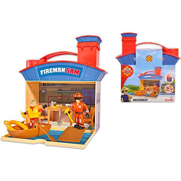 Sam a tűzotó: Vízimentő felszerelés 2 figurával - 1. Kép
