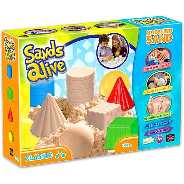 Sands Alive: modellező homok - klasszikus formák