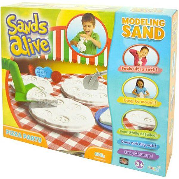 Sands Alive: modellező homok - pizza party