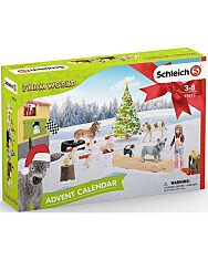 Schleich: Farm World 2019 Adventi naptár - 1. Kép