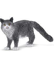 Schleich: Manie Coon macska figura - 1. Kép