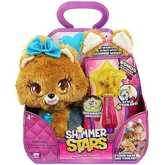 Shimmer Stars: Bubble kutyusplüssfigura varázspálcával - 1. Kép