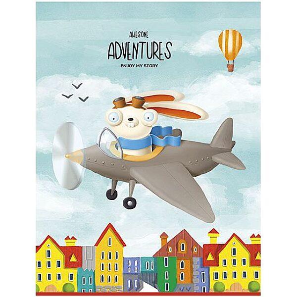 SHKOLYARYK Adventures négyzetrácsos füzet