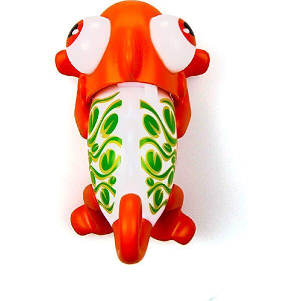 Silverlit: Gloopies kaméleon - narancssárga - 3. Kép