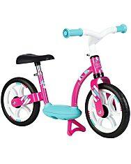 Smoby: Balance Bike Comfort futóbicikli - pink - 1. Kép