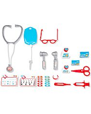 Smoby: doktor játékkocsi tartozékokkal és hangokkal - 2. Kép