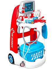 Smoby: doktor játékkocsi tartozékokkal és hangokkal - 1. Kép