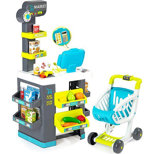 Smoby: Modern szupermarket elektronikus pénztárgéppel - 1. Kép