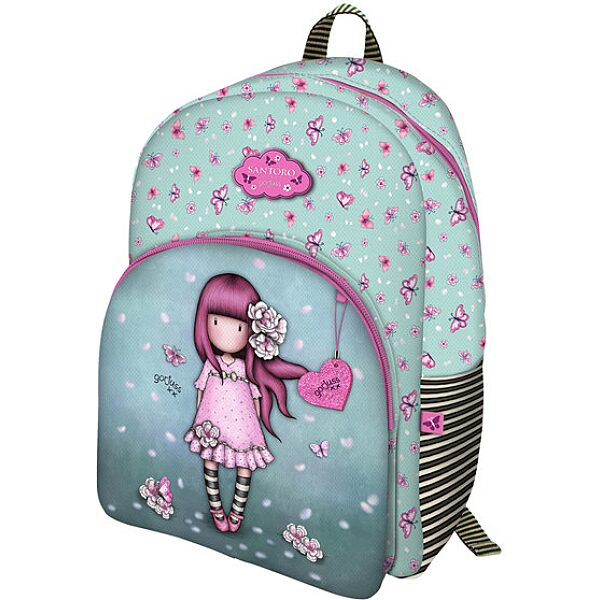 Sparkle & Bloom : Dupla zsebes hátizsák - Cherry Blossom - 1. Kép