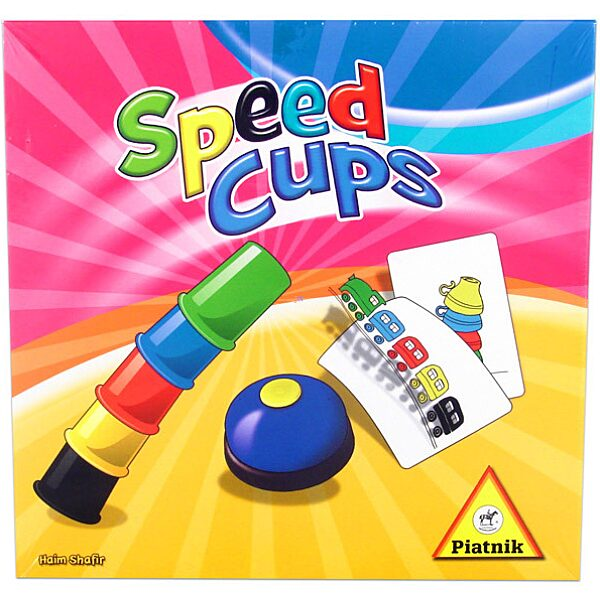 Speed Cups - Gyors poharak társasjáték - 1. Kép