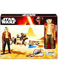 Star Wars Gyorsasági sikló Poe Dameron figurával - 2. Kép
