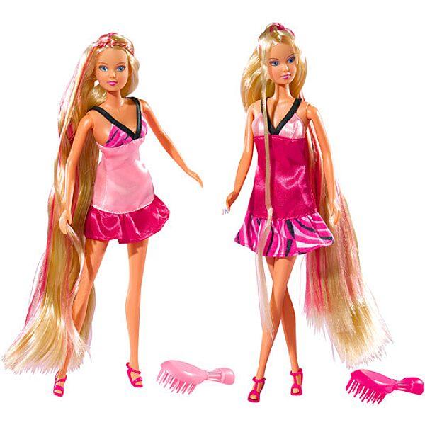 Steffi Love baba extra hosszú hajjal - kétféle - 1. Kép