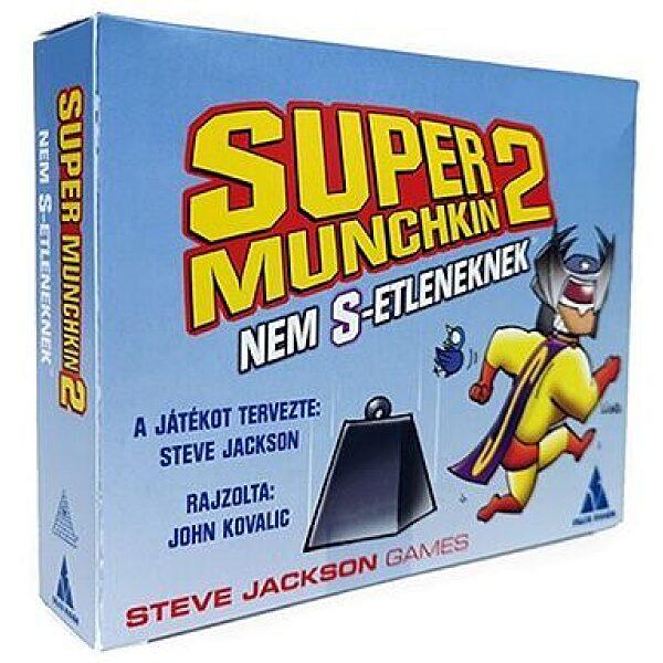 Super Munchkin 2 - Nem S-etlenek kiegészítő - 1. Kép