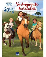 Szilaj - Vadnyugati kalandok - Spirit színező- és foglalkoztatókönyv - 1. Kép