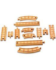 Thomas Fa: Egyenes és kanyar sínek 12 darabos - 2. Kép