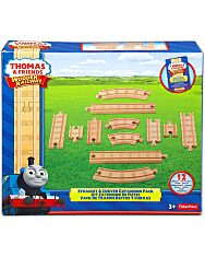 Thomas Fa: Egyenes és kanyar sínek 12 darabos - 1. Kép