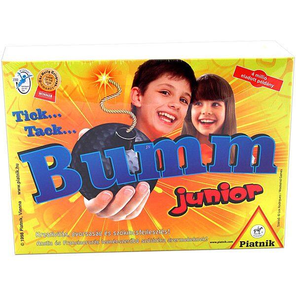 Tick Tack Bumm Junior társasjáték - új kiadás - 1. Kép