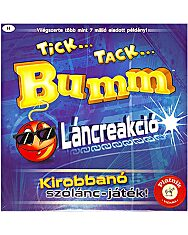 Tick Tack Bumm Láncreakció társasjáték - 1. Kép