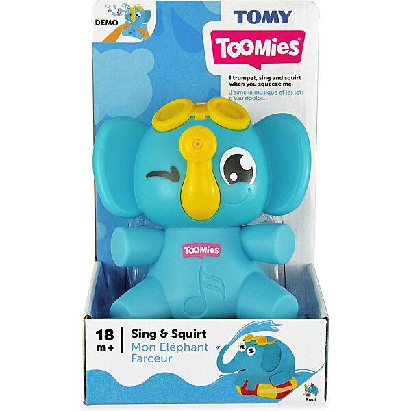 Tomy: daloló-spriccelő elefánt - 6. Kép