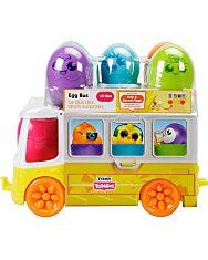Tomy Toomies: Buszos tojáskaland szett - 2. Kép