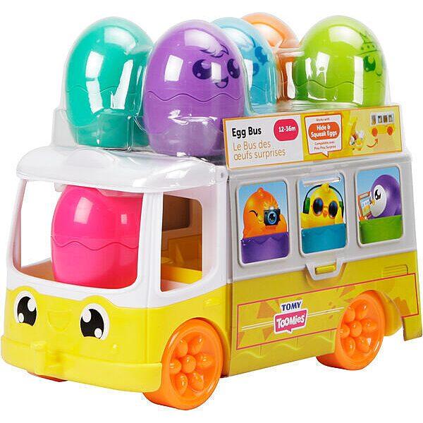 Tomy Toomies: Buszos tojáskaland szett - 1. Kép