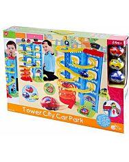 Tower City parkolóház - 1. Kép