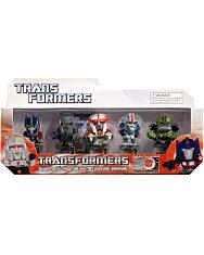 Transformers: Gyűjthető figurák és 3D puzzle elemek - 5 darabos többféle - 1. Kép