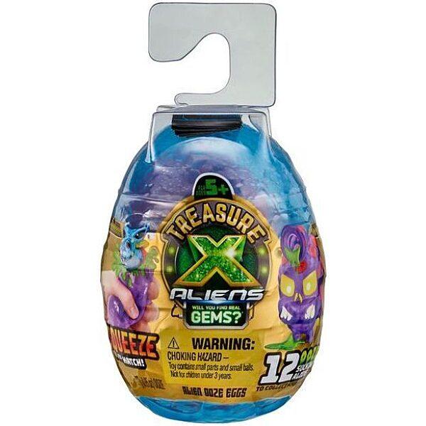 Treasure X: ALIENS - Mini Alien Szivárgó meglepetés tojások - 1. Kép