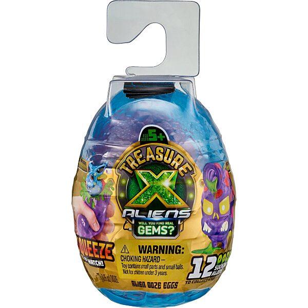 Treasure X: ALIENS - Mini Alien Szivárgó meglepetés tojások - 8. Kép
