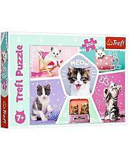 Trefl: Cuki cicák 260 db-os puzzle - 1. Kép
