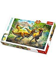 Trefl: Dinók 160 darabos puzzle - 1. Kép