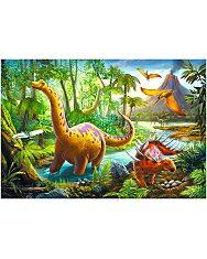 Trefl: dinoszauruszok 60 darabos puzzle - 2. Kép