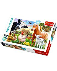 Trefl: Farm 60 darabos puzzle - 1. Kép