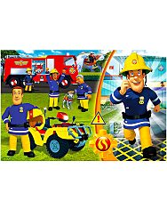 a tűzoltó 24 darabos maxi puzzle - 1. Kép