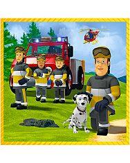 a tűzoltó 3 az 1-ben puzzle - 1. Kép