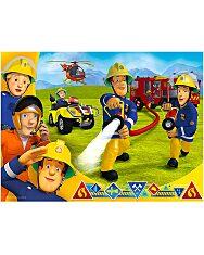 a tűzoltó 30 darabos puzzle - 1. Kép