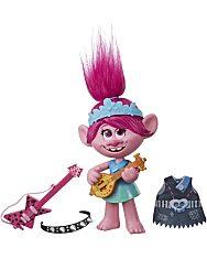 Trollok a világ körül: Pop to Rock éneklő Poppy baba - 2. Kép