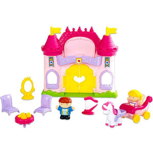 Tündérmese kastély játékfigura készlet hanggal - 11 darabos - 2. Kép