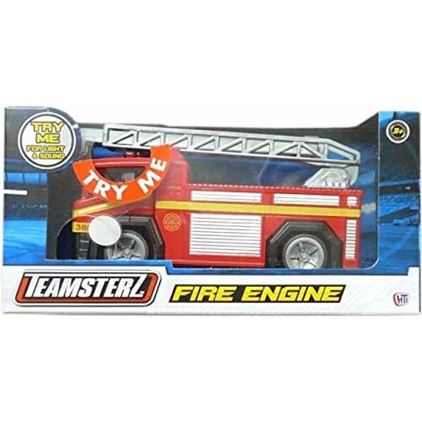 Tűzoltóautó kitolható létrával