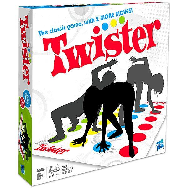 Twister társasjáték két új mozdulattal angol nyelvű - 1. Kép