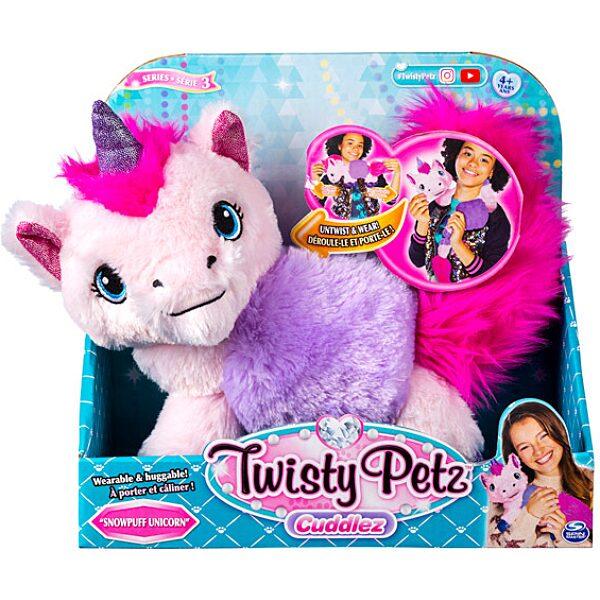 Twisty Petz Cuddlez: Snowpuff Unicorn átalakítható plüssfigura - 3. Kép